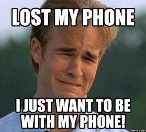 Lost Phone Meme