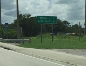 "The theme for this blog post is ""Interesting Road Signs."""
