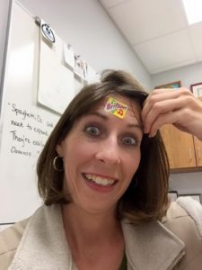 I'm brilliant. The sticker on my forehead should have told you.